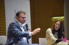León Valencia y Natalia Parra