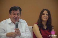 Leon valencia Y Natalia Parra